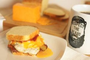 Brioche Bacon Egg and Cheese