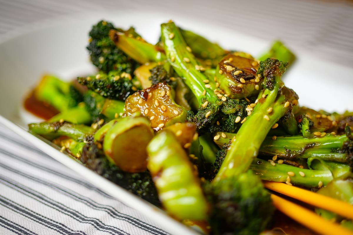Stir-Fry Broccoli