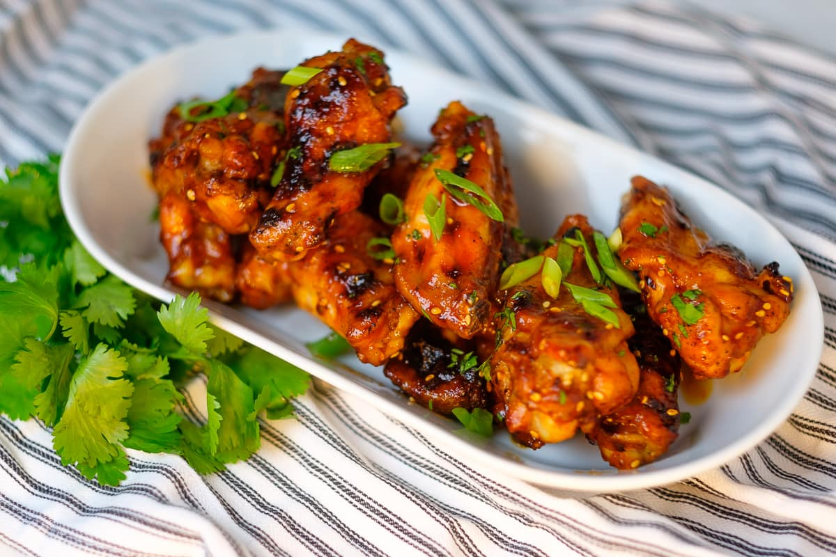 Ultimate Baked Honey Sriracha Wings