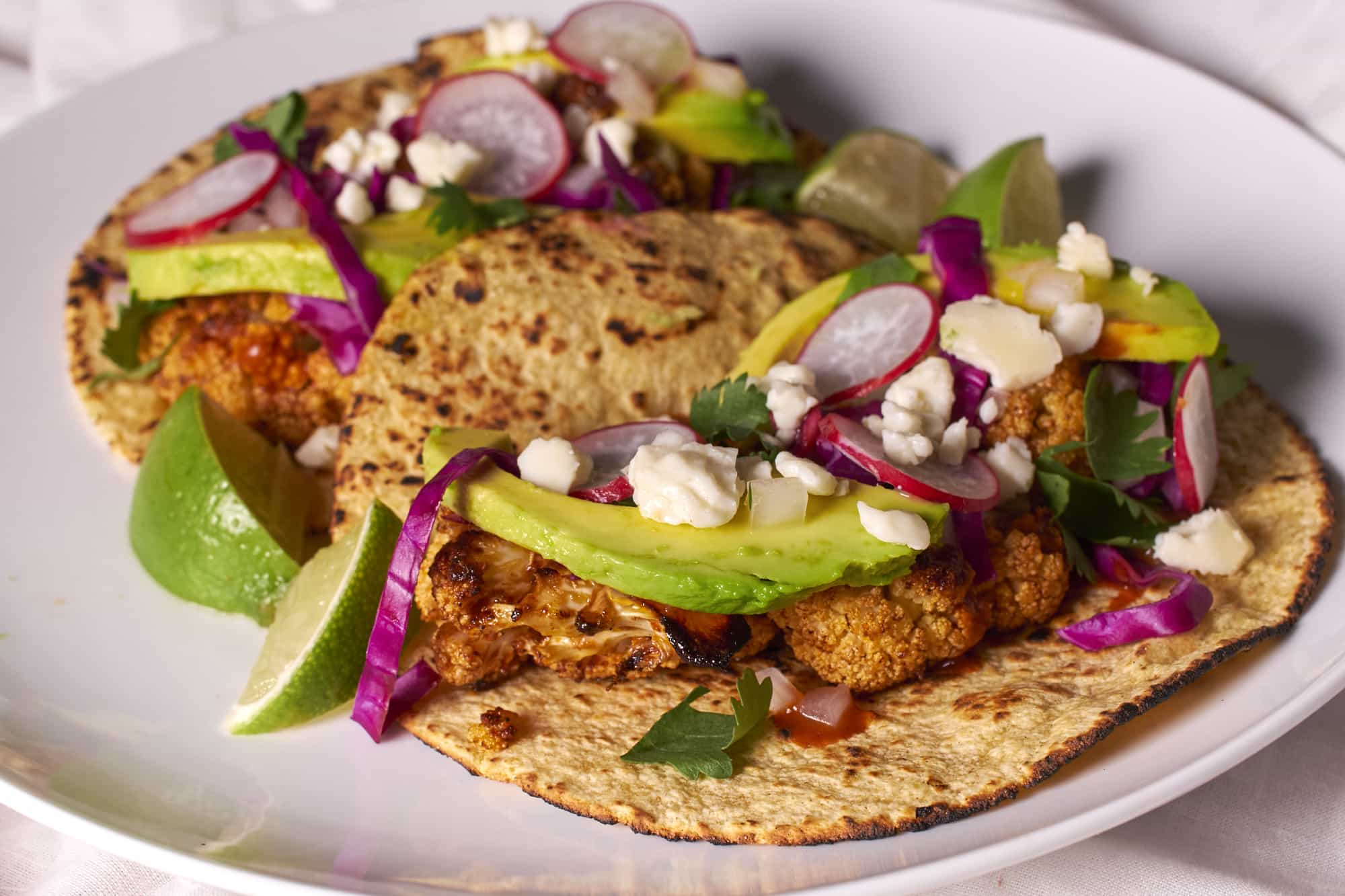 Roast Cauliflower Tacos