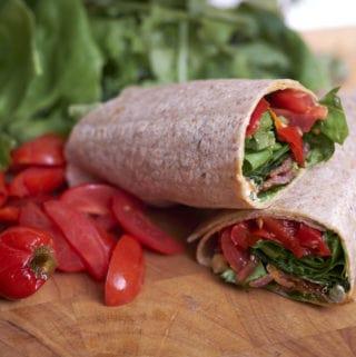 BLT Salad Wrap