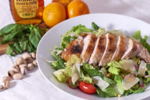 Mediterranean Roast Chicken Salad
