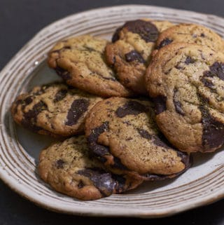 Tahini Chocolate Chunk Cookies with Zahtar