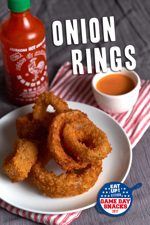 Onion Rings – 2017 Game Day Snacks: Week 8 - Onion Rings