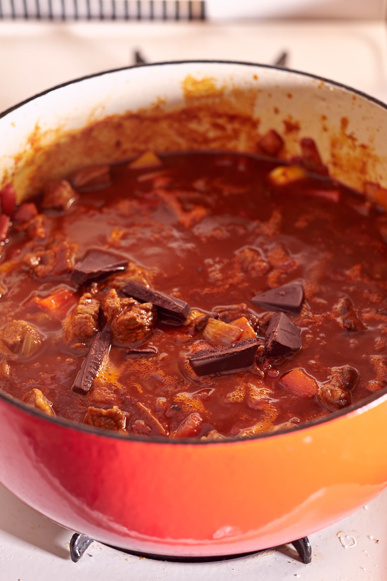 Three Chili Short Rib Chili