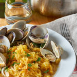 Spaghetti Squash and Clams