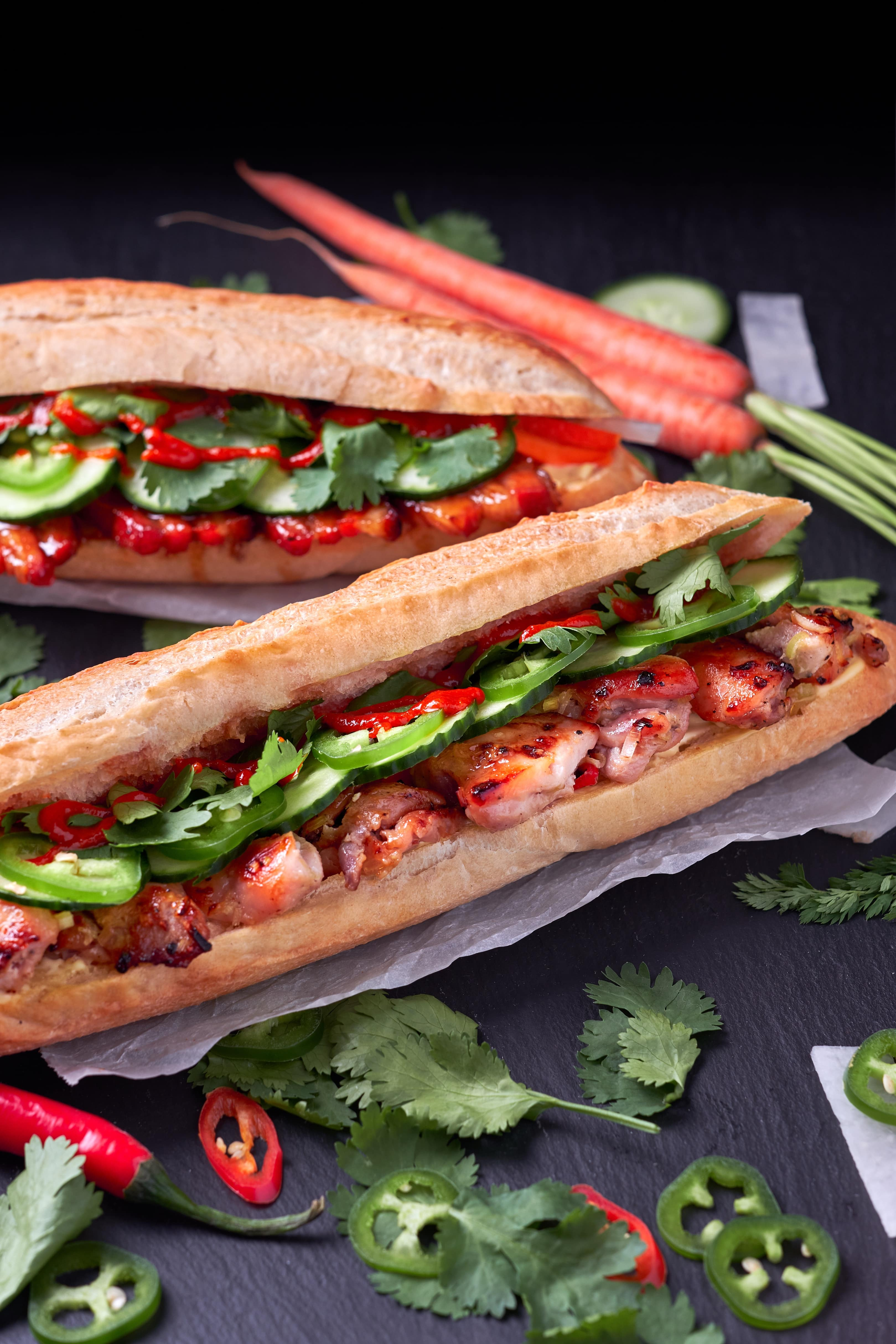 Lemongrass Chicken Bahn Mi