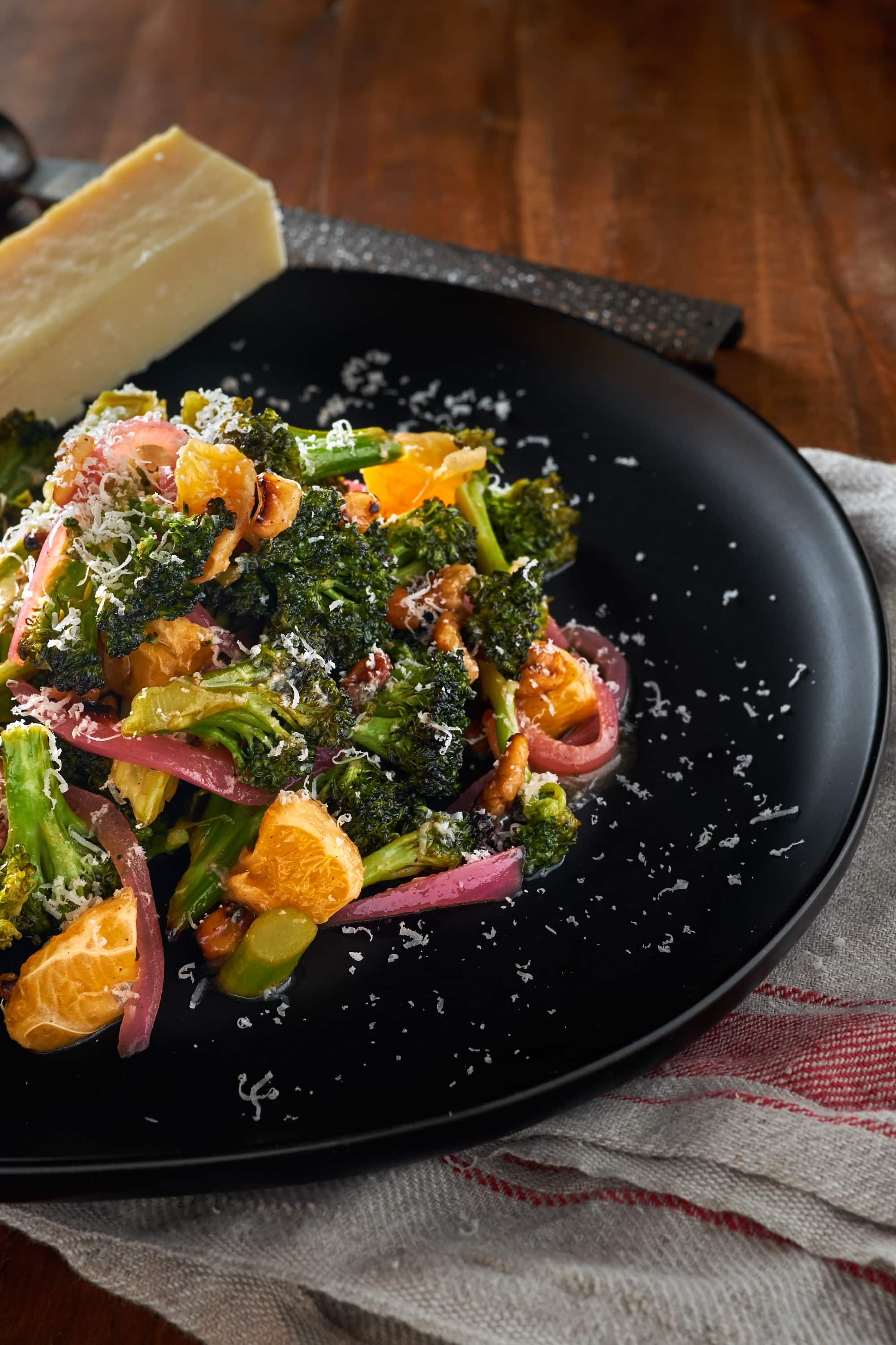 Citrus Walnut Broccoli Salad