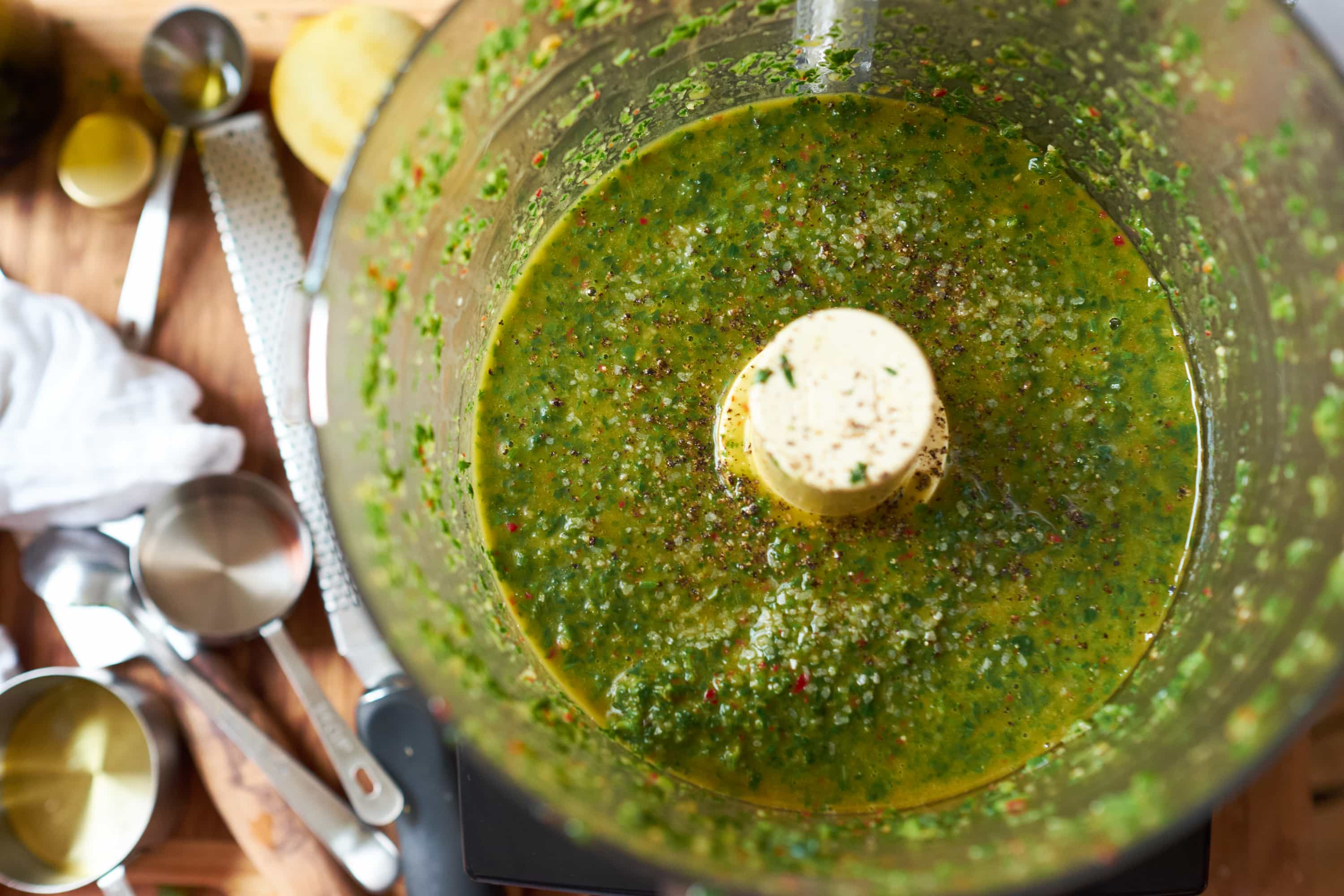 Carrot Top Chimichurri