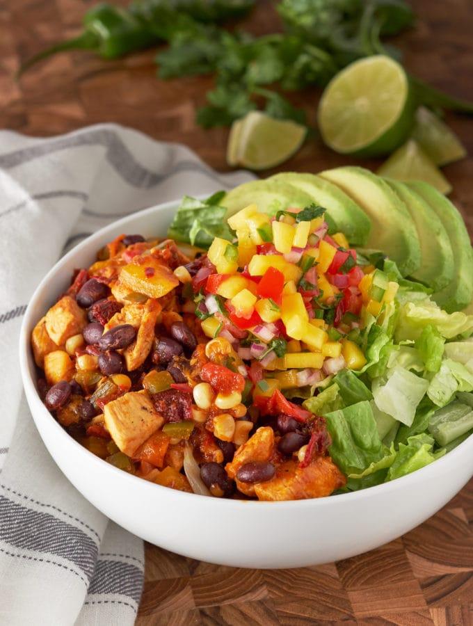 Chipotle Chicken Salad
