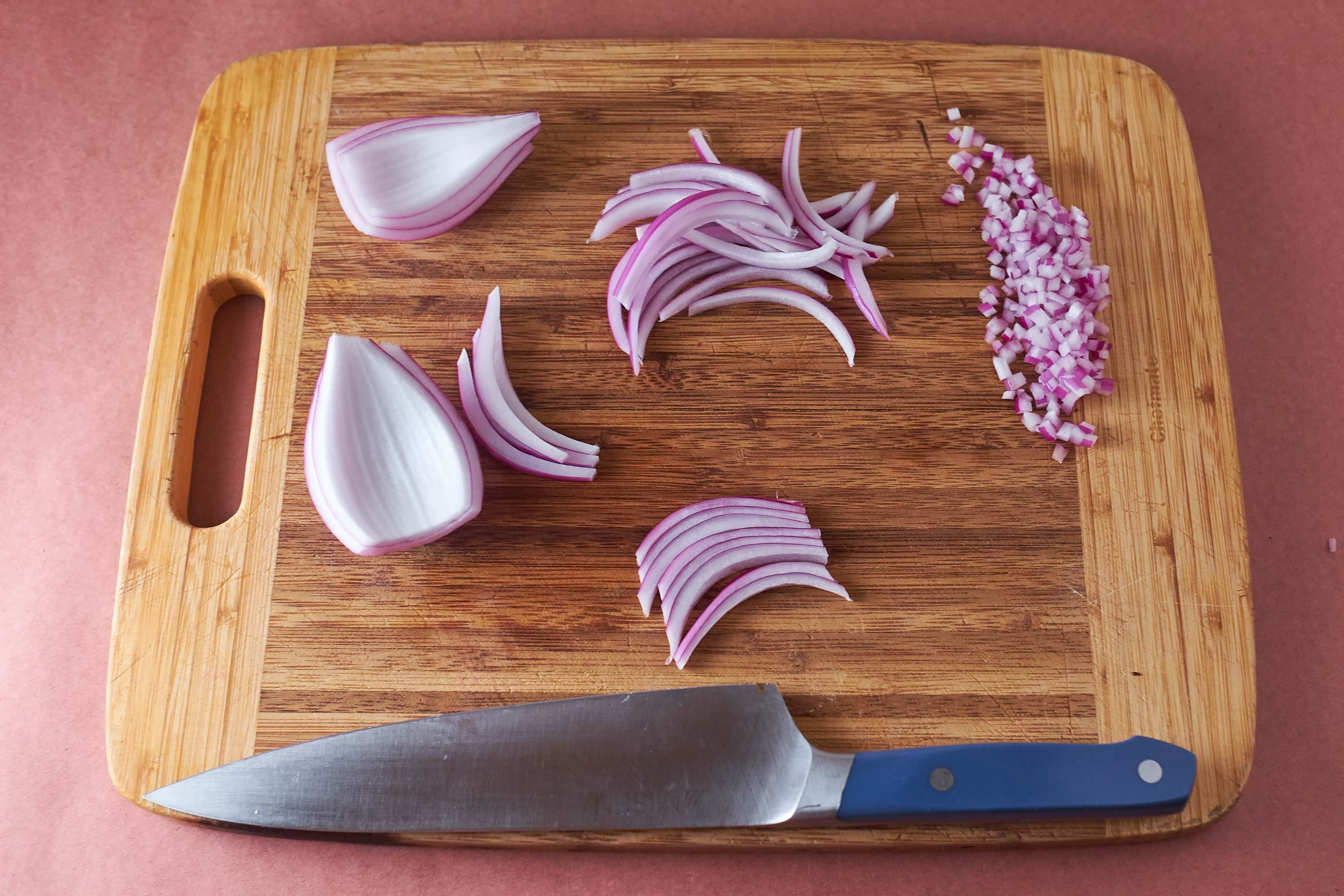 Cooking Tip: For Finely Diced Onions