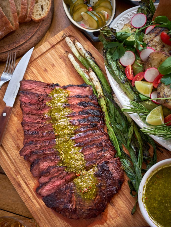 Coffee Rubbed Flank Steak