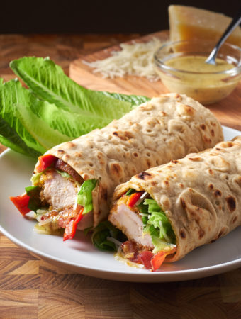 Chicken Tender Caesar Wrap