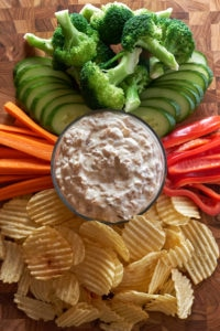 French Onion Yougurt Dip