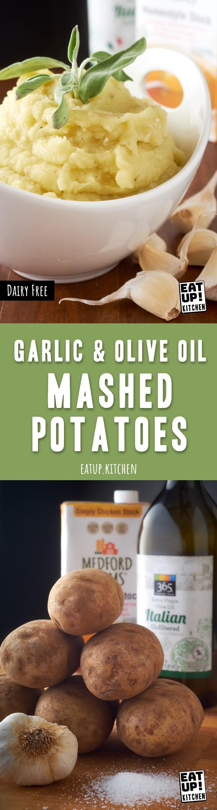 Garlic & Olive Oil Mashed Potatoes