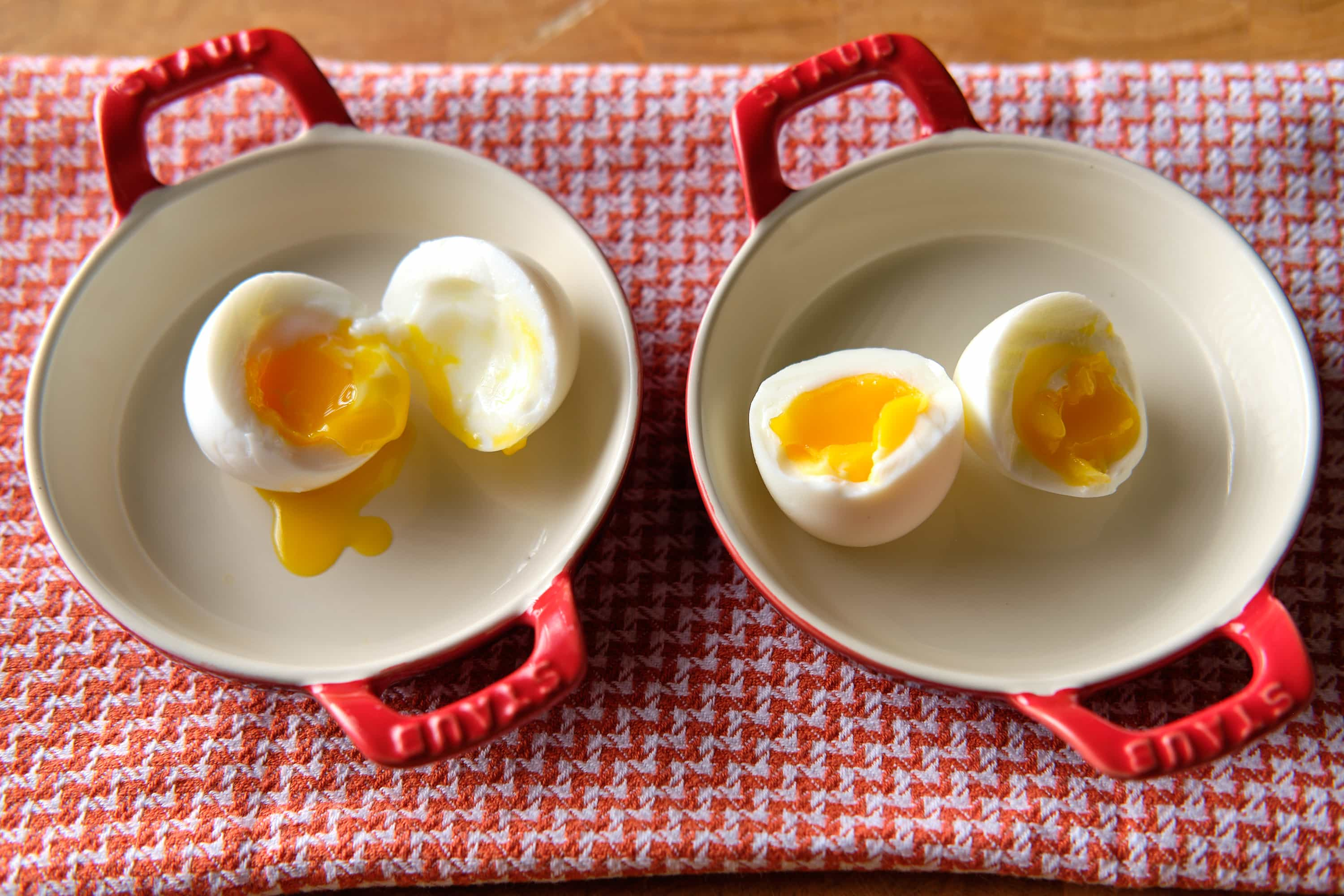 Soft Cooked Eggs - Simmer Start