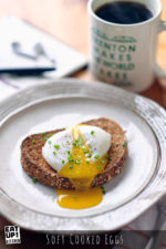 Soft Cooked Eggs - Sousvide