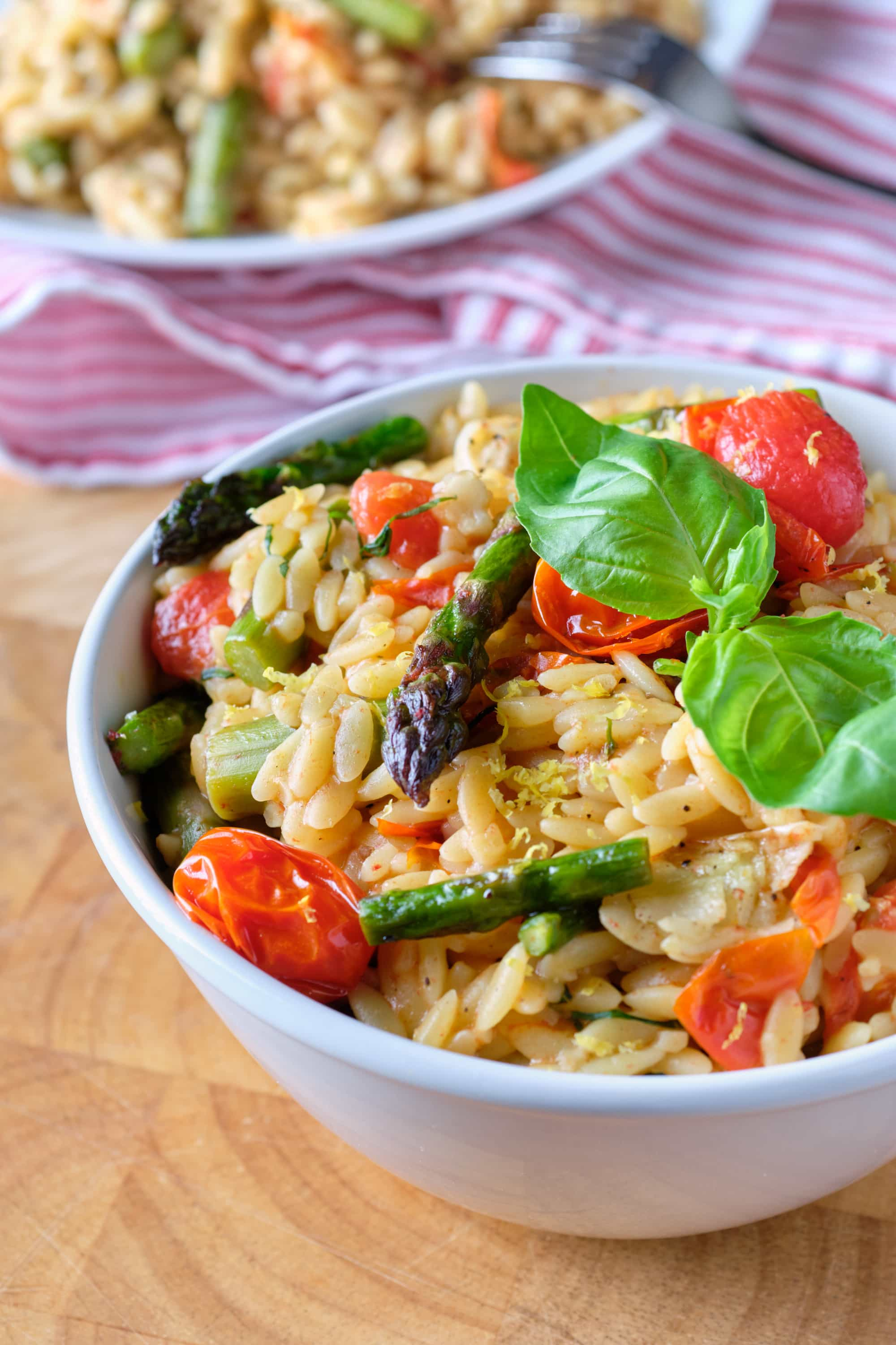 Orzo and Roasted Vegetables