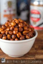 Beer-Honey Roasted Chickpeas