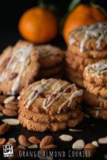 Orange Almond Cookies