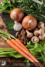 Homemade Vegetable Stock