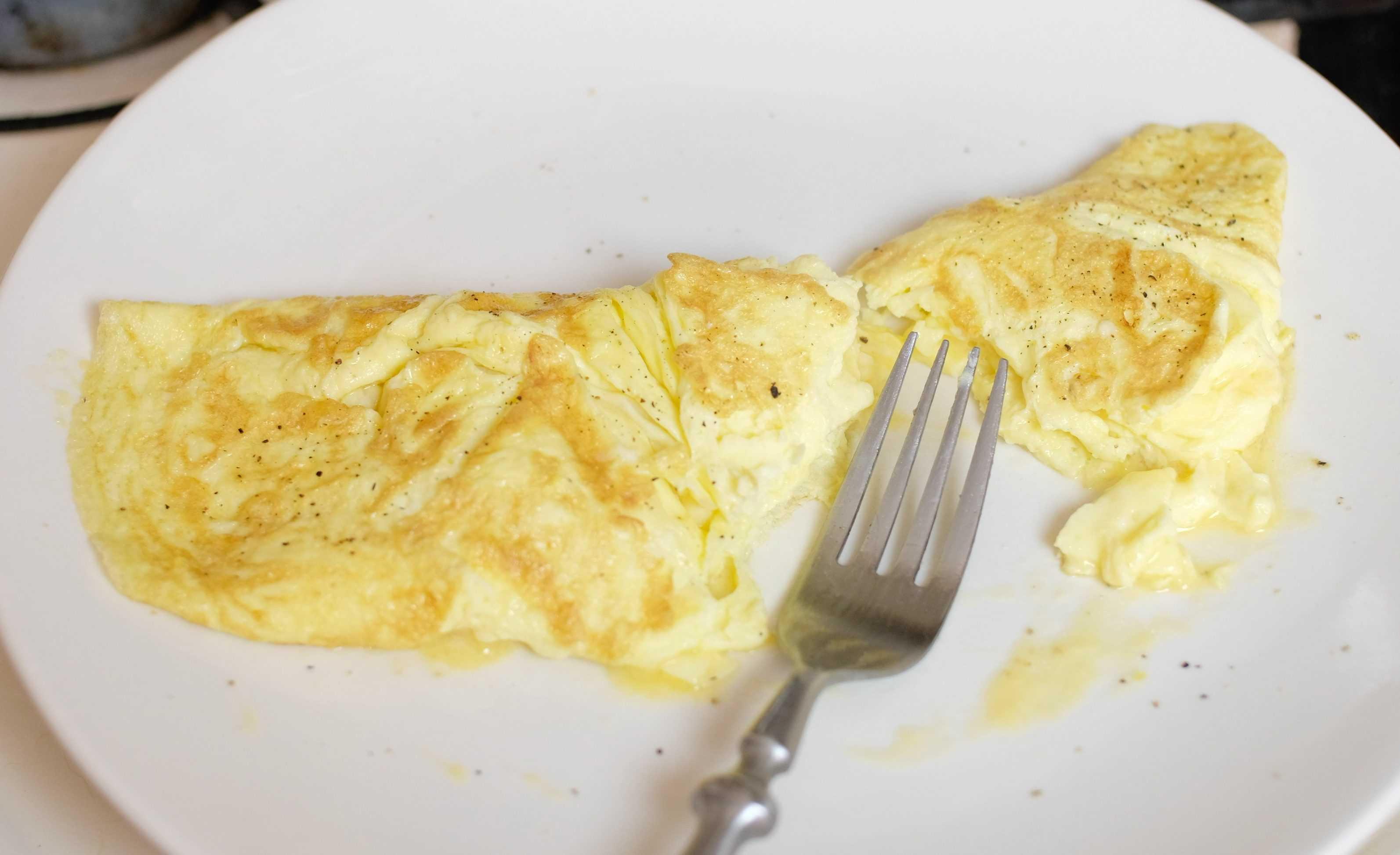 2 Minute Omelette