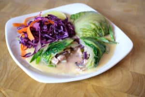 Asian Chicken Romain Wraps