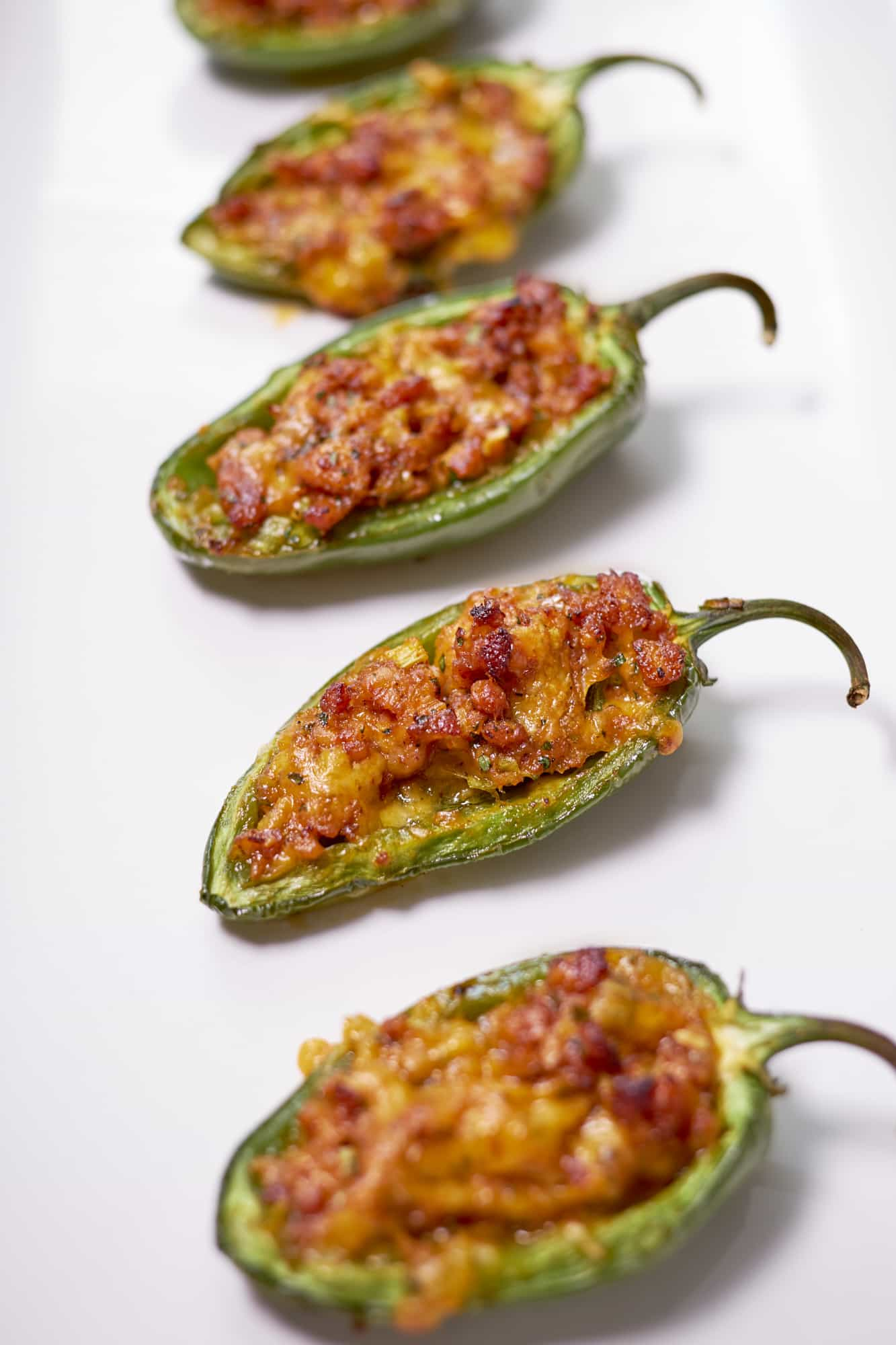 Chicken Stuffed Jalapeños