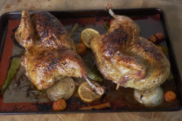 Roast Chicken Half