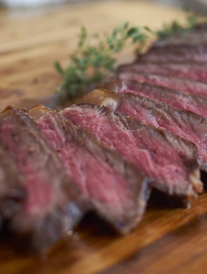 Sousvide Strip Steak