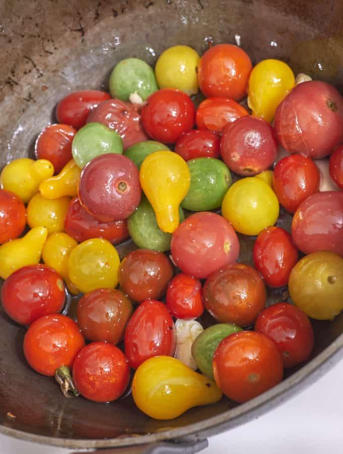 Simple Cherry Tomato Sauce