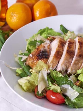 Mediterranean Roast Chicken Salad