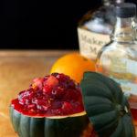 Orange Maple Bourbon Cranberry Sauce