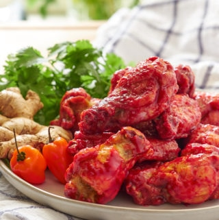 Raspberry Habanero Wings