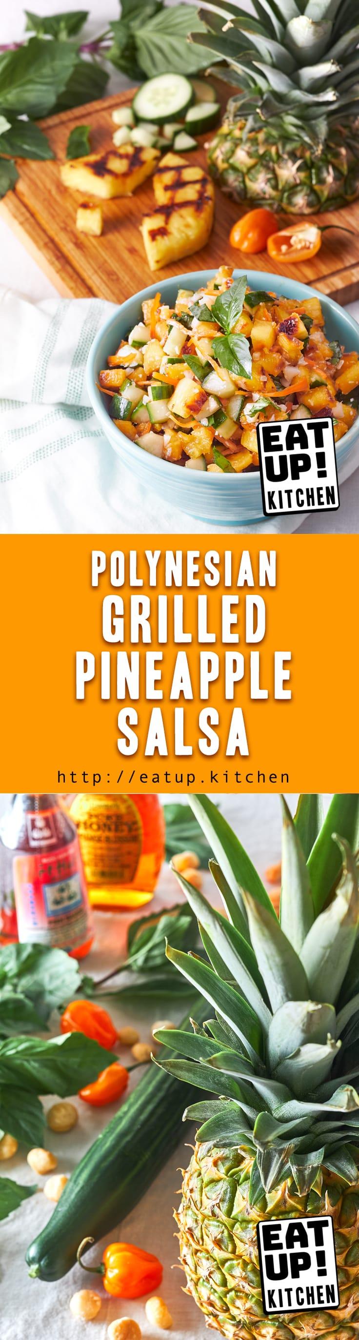 Polynesian Grilled Pineapple Salsa