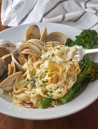 Fettuccine and Clams
