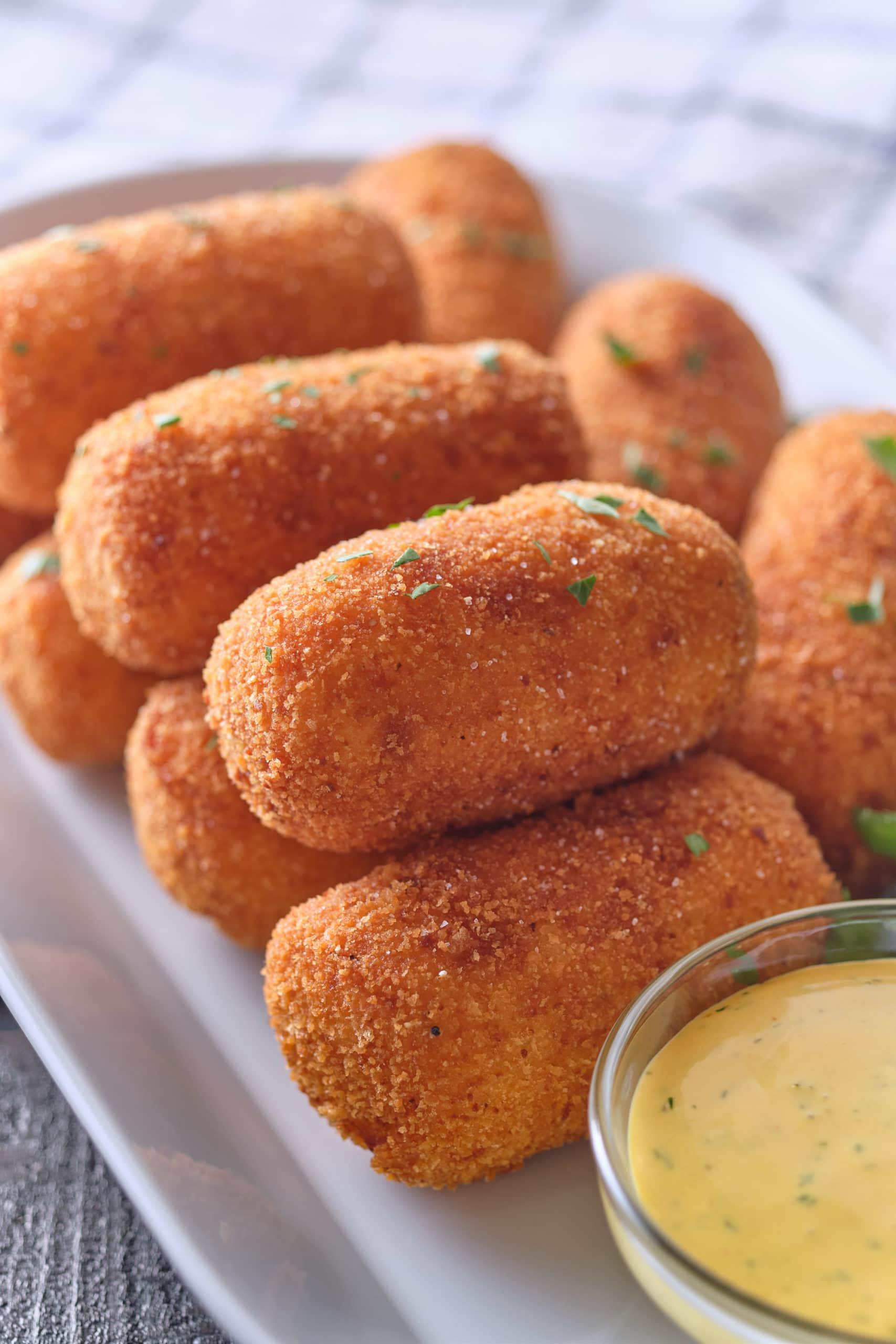 Potato Croquettes Eat Up Kitchen